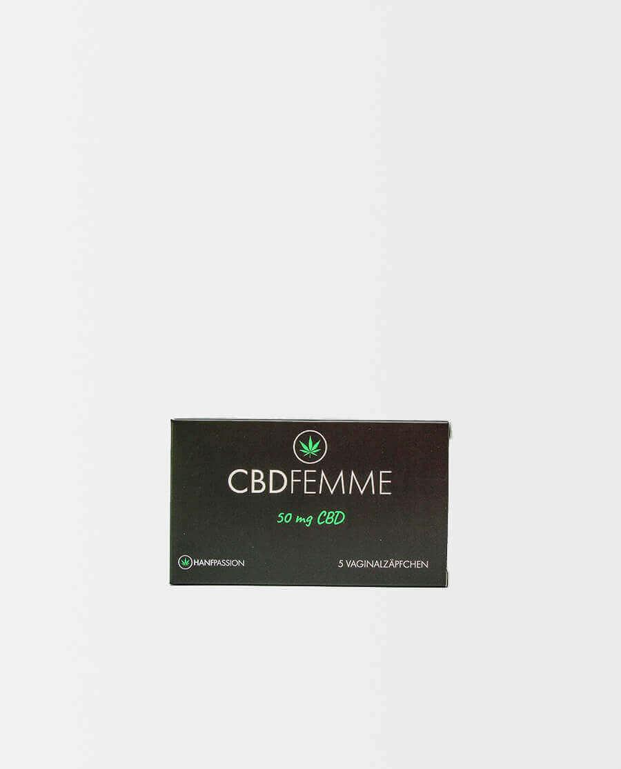 Hanfpassion – CBDFemme – CBD Vaginalzäpfchen