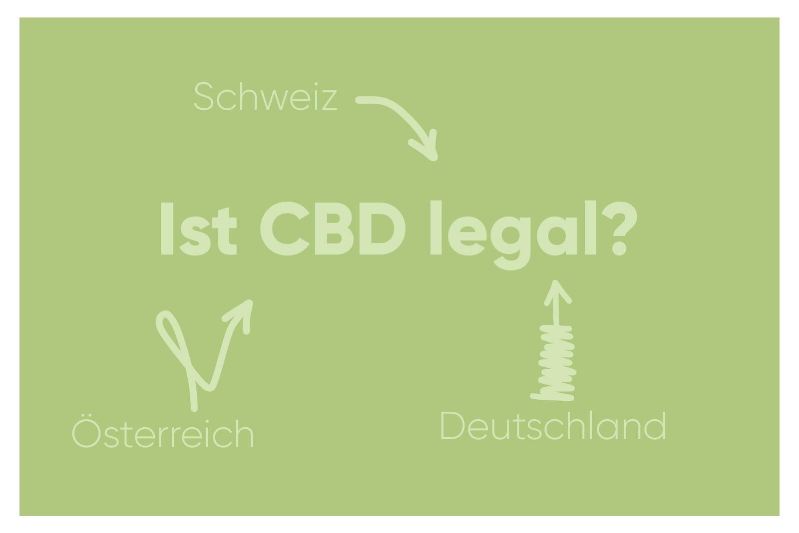 Deutschland, Österreich, Schweiz - ist CBD überall legal?