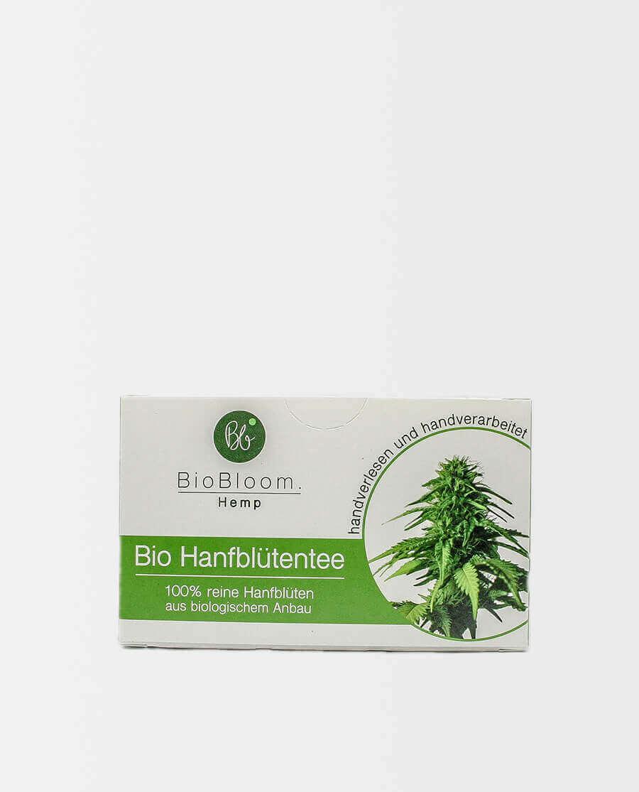 BioBloom – Bio Hanfblütentee – Teebeutel