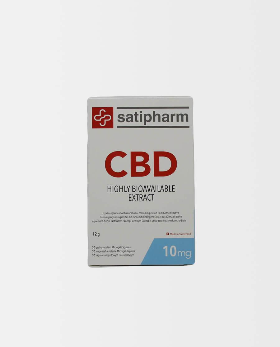 Satipharm – CBD Gelpell® Microgel Kapseln