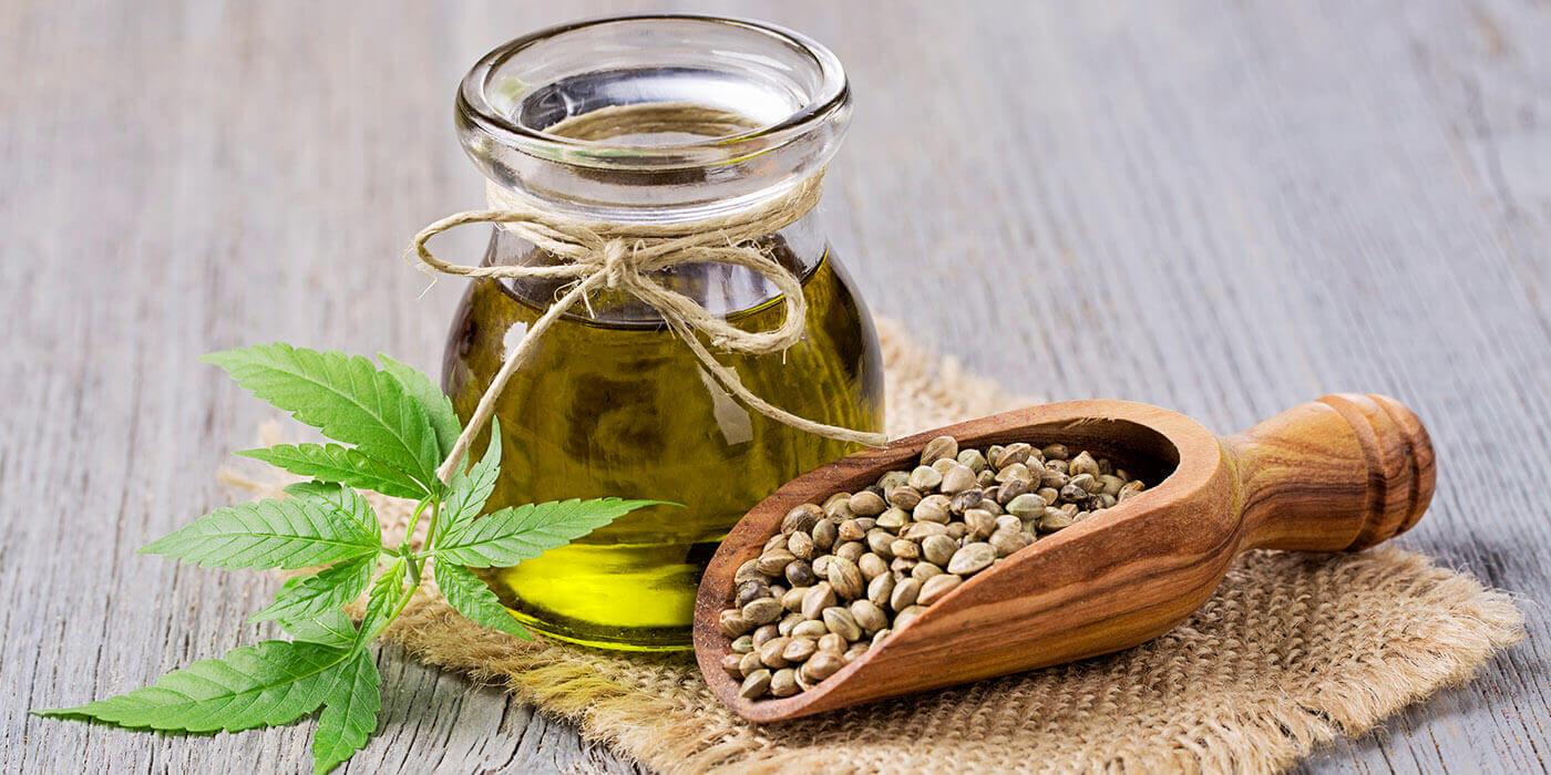 Oliven- und Hanfsamenöl als Trägeröle für CBD