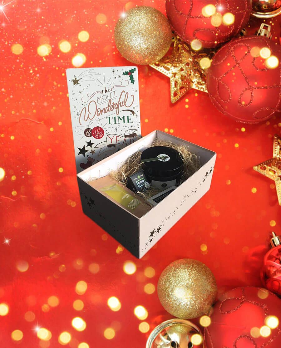 Christmas CBD Geschenk-Box