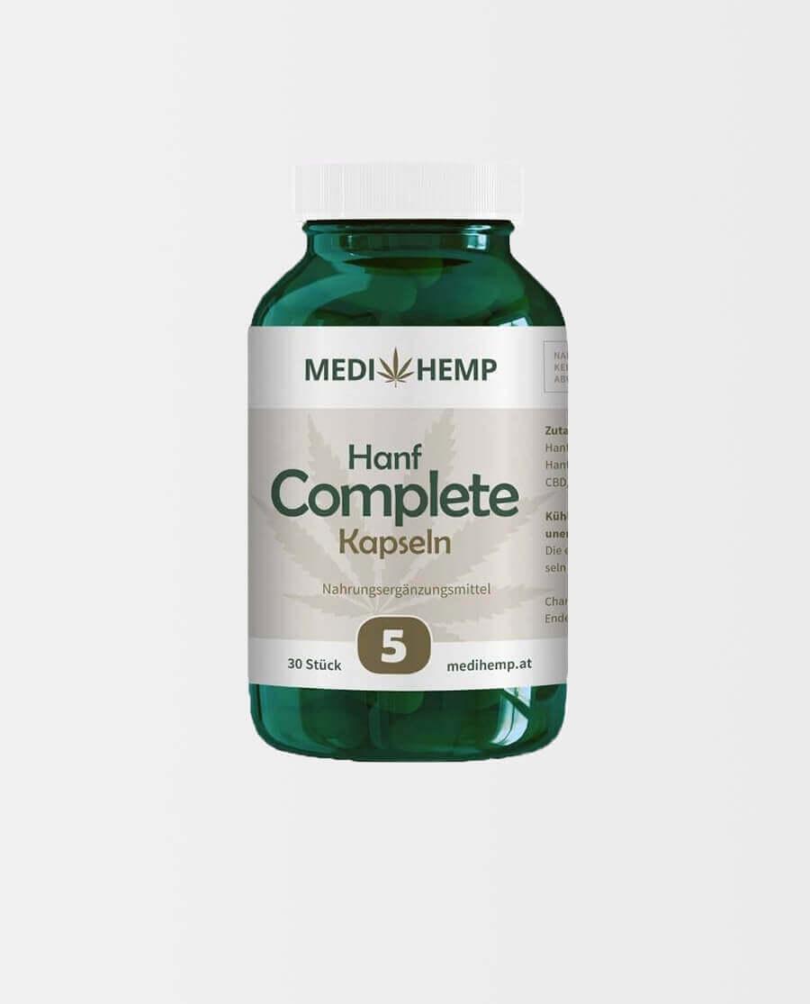 Medihemp – Bio Hanf Complete Kapseln 5%