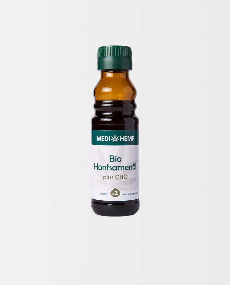 Medihemp – Bio Hanfsamenöl plus CBD