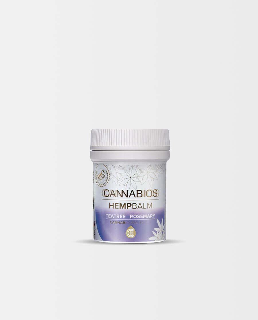 Cannabios – Hanfbalsam mit Teebaumöl und Rosmarin