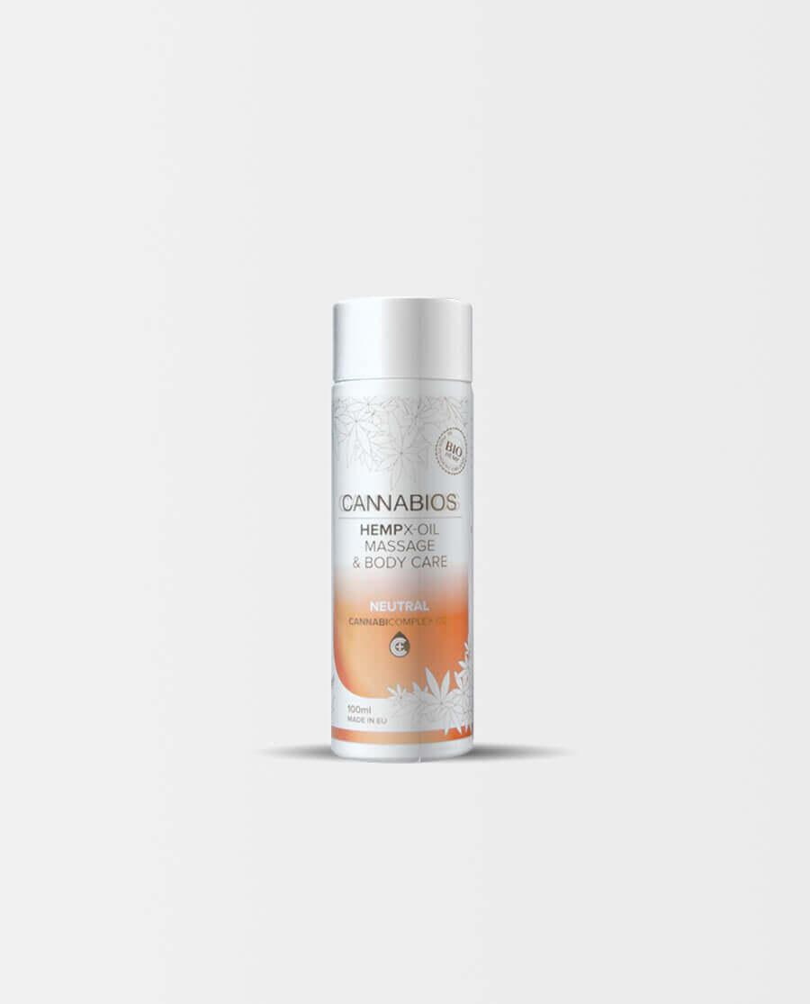 Cannabios – HEMPX Massageöl Neutral
