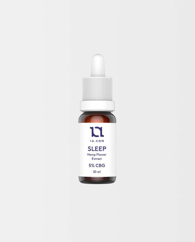 1A - SLEEP CBG Öl 5%