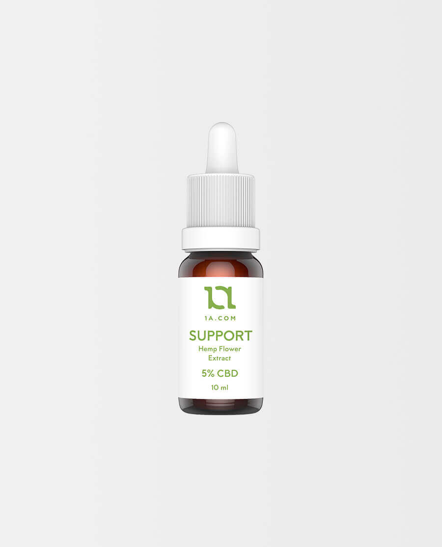 1A – SUPPORT CBD Öl 5%