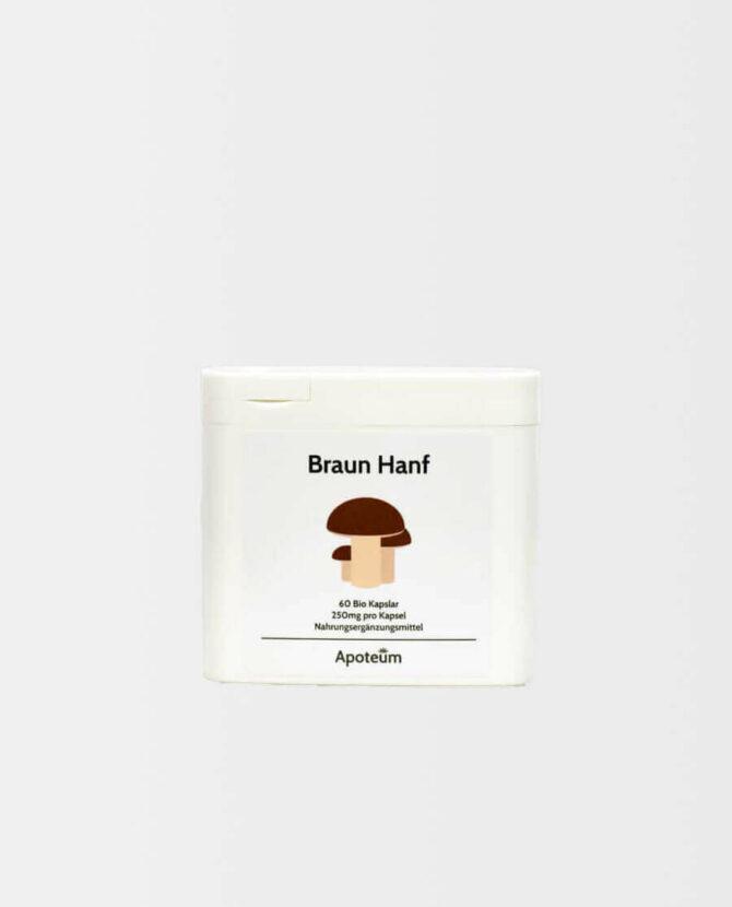 Apoteum - Braun Hanf Kapseln