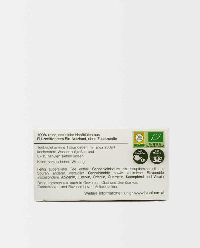 BioBloom - Bio Hanfblütentee - Teebeutel