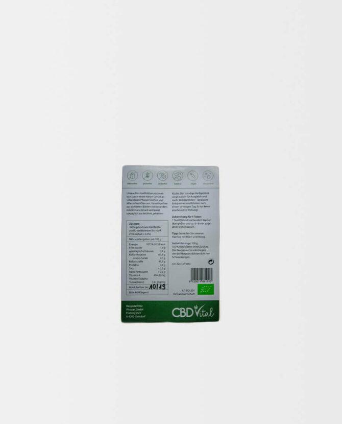 CBD Vital - CBD Hanfblütentee Bio 1,9% - just relax