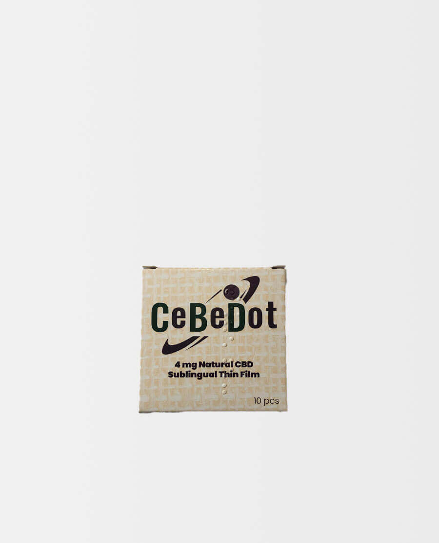 CeBeDot – Sublingualer CBD Film