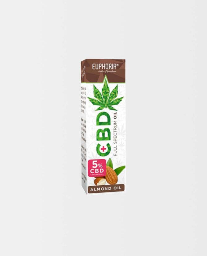 Euphoria - CBD Extrakt in Mandelöl