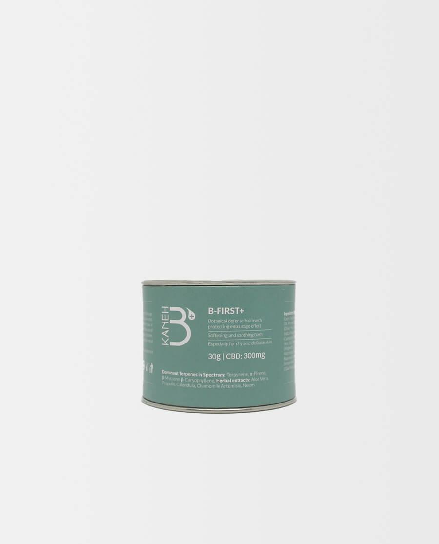 Kaneh-b – B-FIRST+ CBD Balsam für trockene und empfindliche Haut