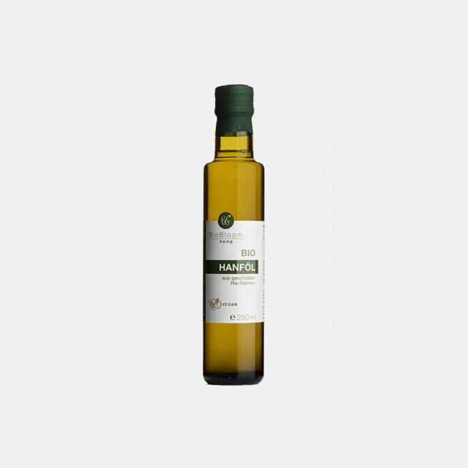 BioBloom - Bio Hanföl aus ungeschälten Hanfsamen