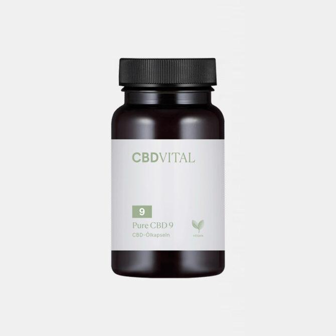 CBD Vital - CBD Öl Kapseln Pure
