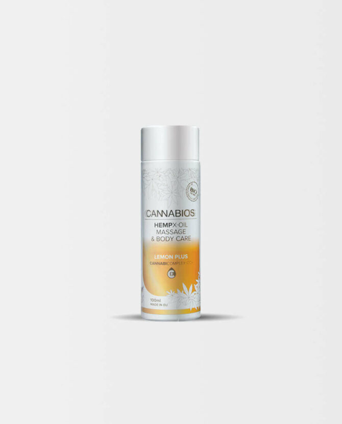 Cannabios - HEMPX Massageöl Zitrus Plus