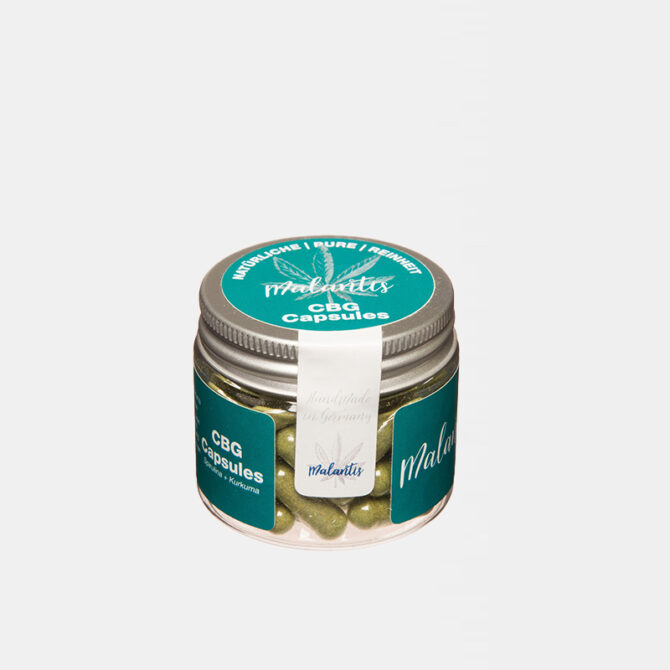 Malantis - CBG - Chlorella - Brokkoli Kapseln