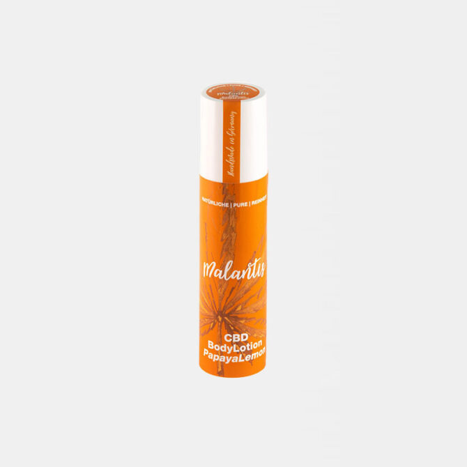 Malantis - CBD BodyLotion Papaya Lemon