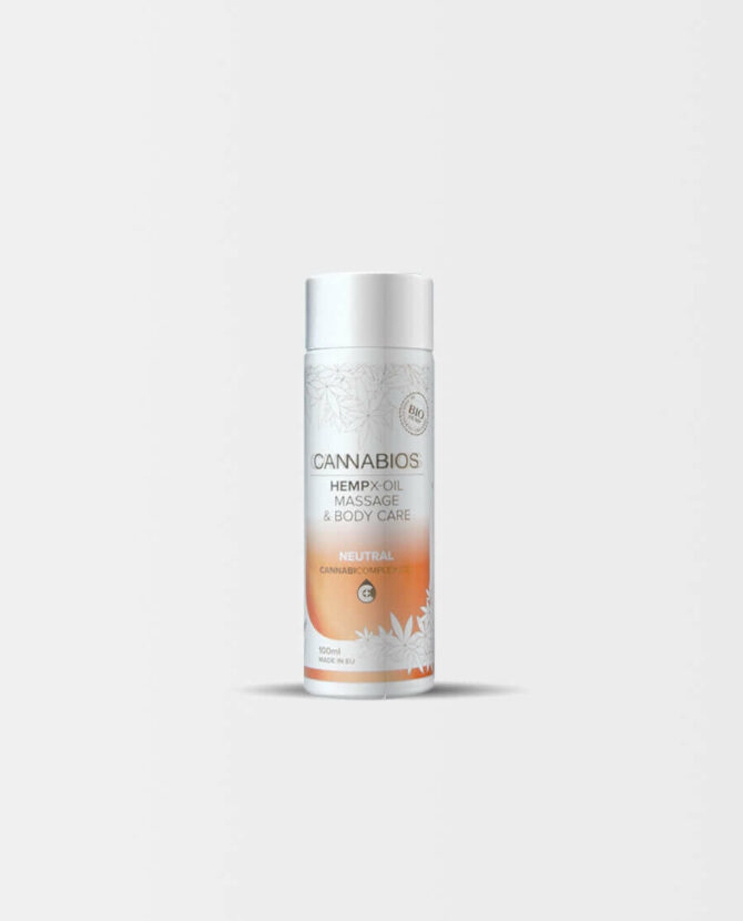 Cannabios - HEMPX Massageöl Neutral