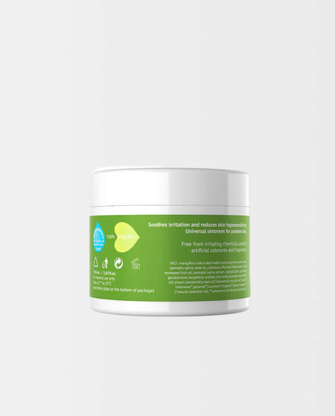 Hemptouch – CBD Balsam für irritierte Haut
