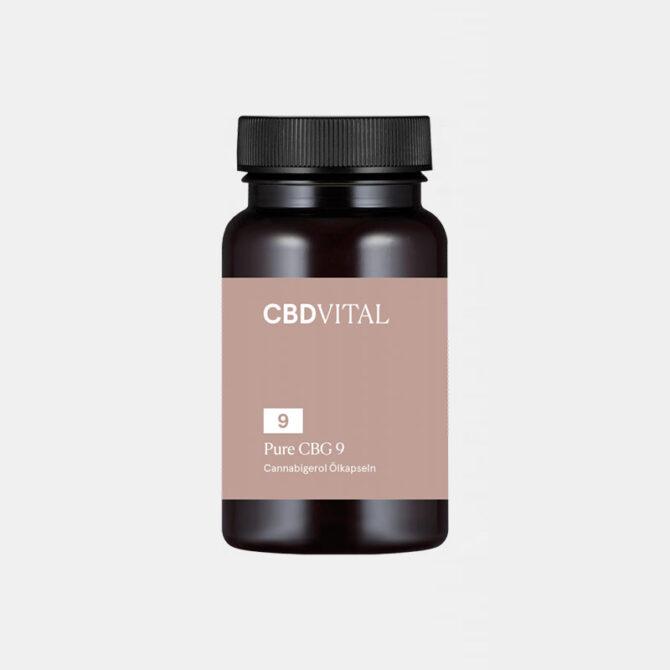 CBD Vital - PURE CBG 9 (5%) Ölkapseln