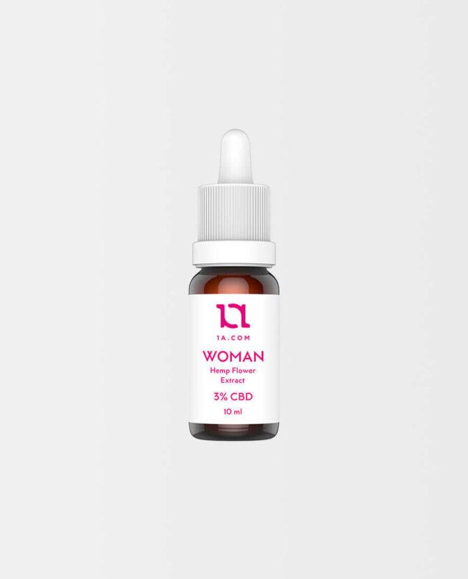 1A - WOMAN CBD Öl 3%