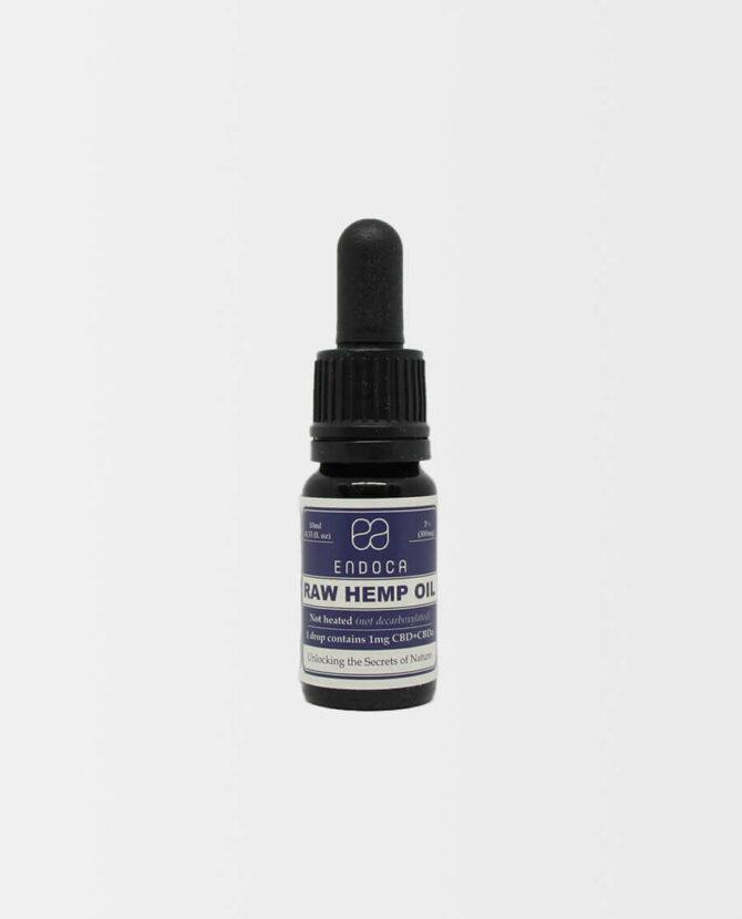 Endoca - Rohes CBD Hanföl (nicht decarboxyliert)