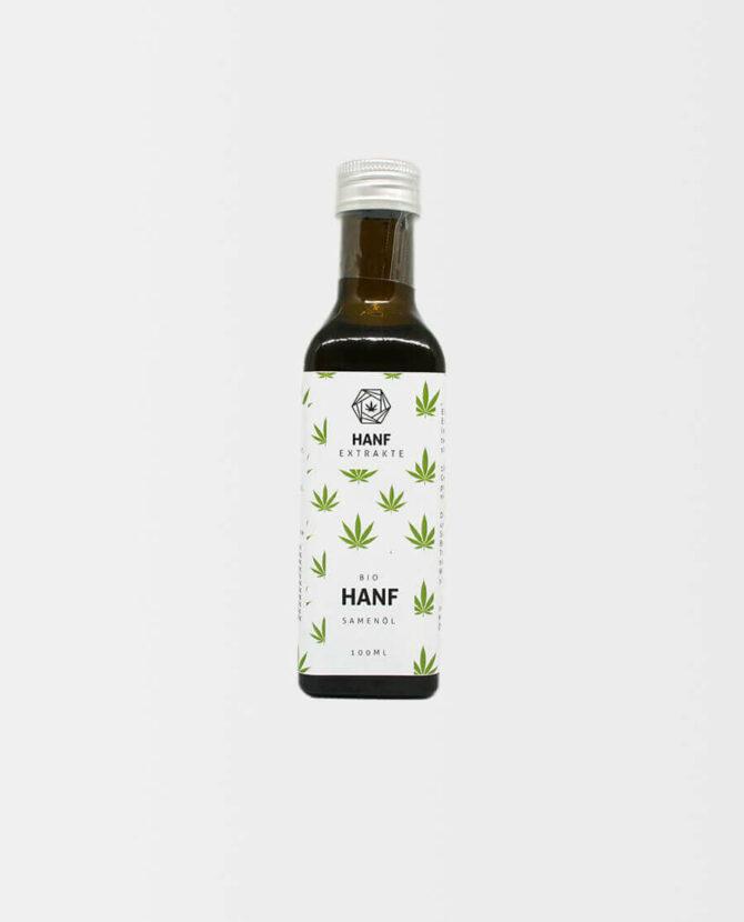 Hanf Extrakte - Bio Hanfsamenöl