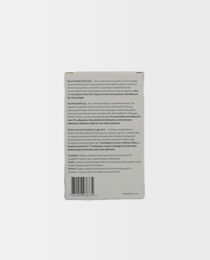 Satipharm - CBD Gelpell® Microgel Kapseln