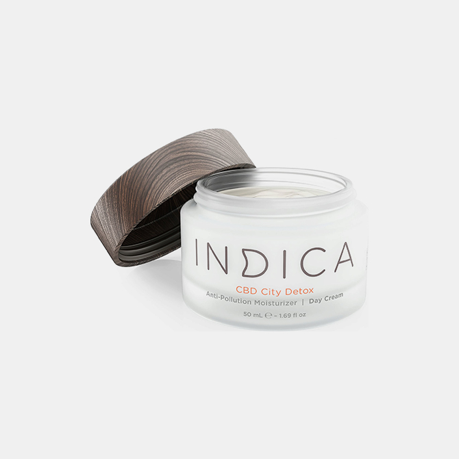 Indica Skincare – CBD City Detox Day Cream