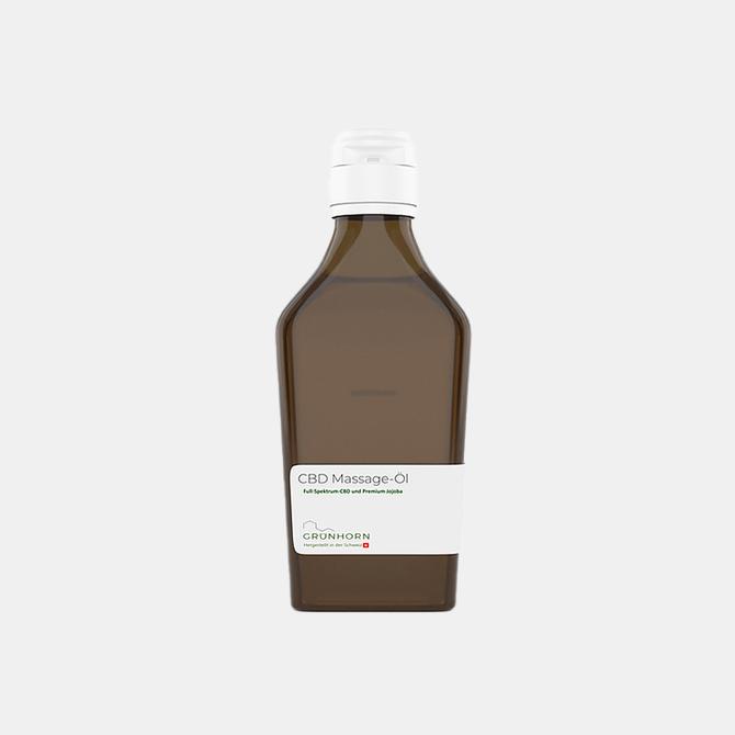 Grünhorn - CBD Massage-Öl