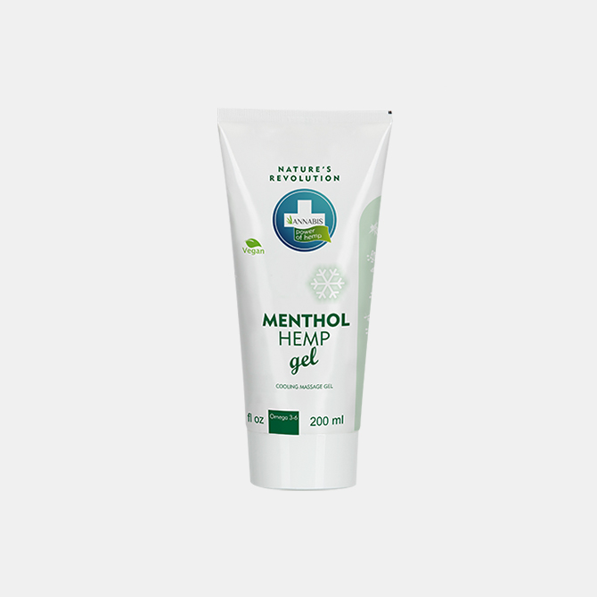Annabis - Menthol Hanf Gel