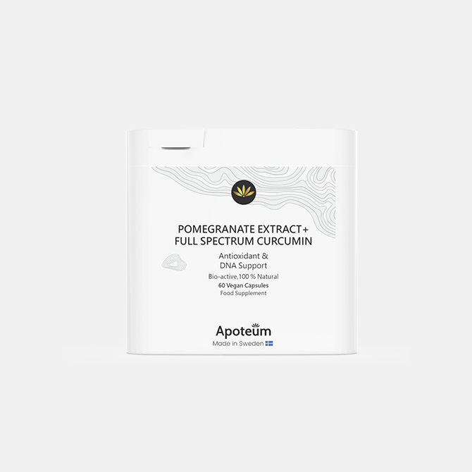 Apoteum - Granatapfel-Extrakt+ Vollspektrum-Curcumin