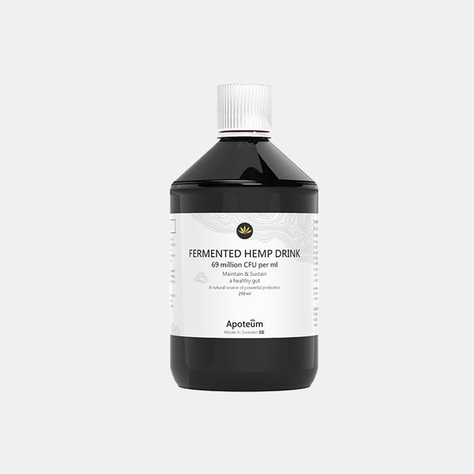 Apoteum - Probiotisches Getränk aus fermentiertem Hanf