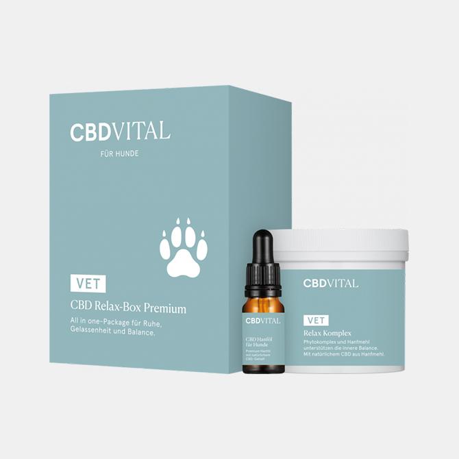 CBD Vital - CBD Relax-Box Premium