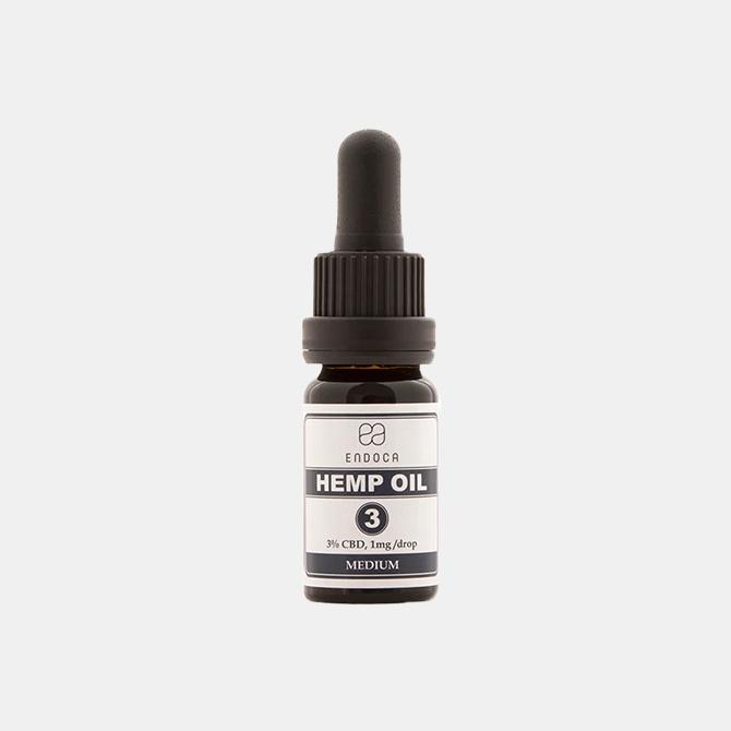 Endoca - CBD Hanföl (decarboxyliert)