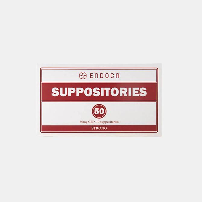 Endoca - CBD Suppositorien (Zäpfchen)