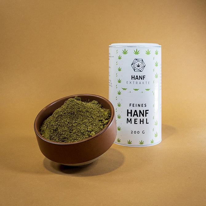 Hanf Extrakte - Feines Hanfmehl