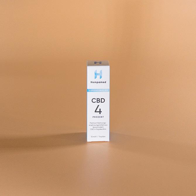 Hempamed - Liposomales CBD Öl 4 Prozent