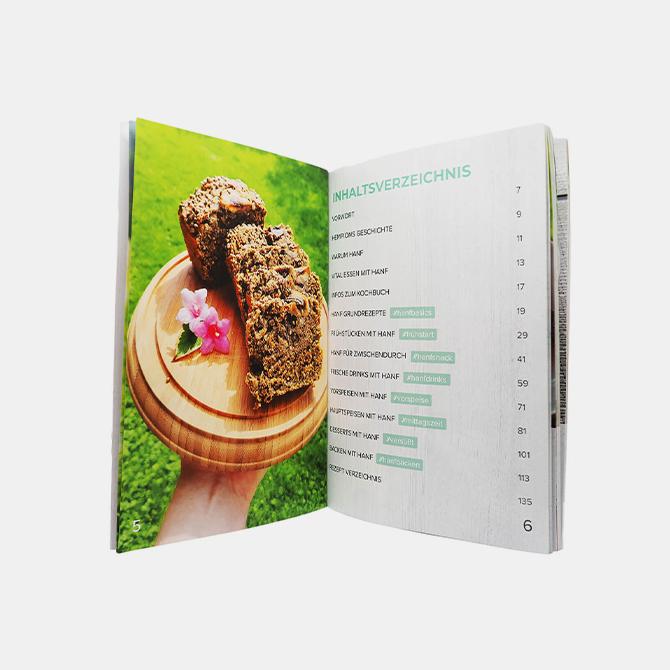 Hempions - Hanf für Champions Rezeptbuch