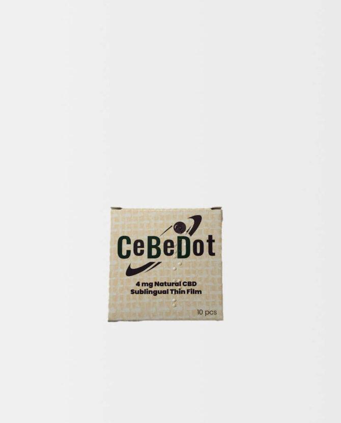 CeBeDot - Sublingualer CBD Film