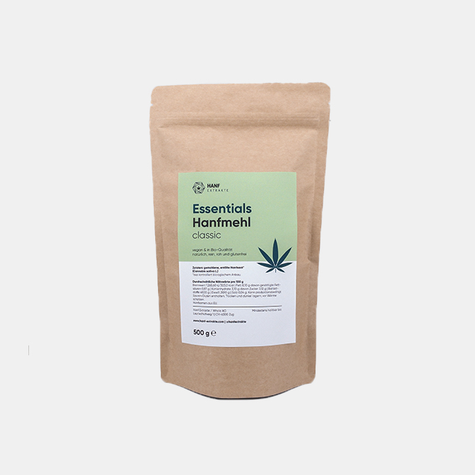 Hanf Extrakte - Essentials Hanfmehl classic