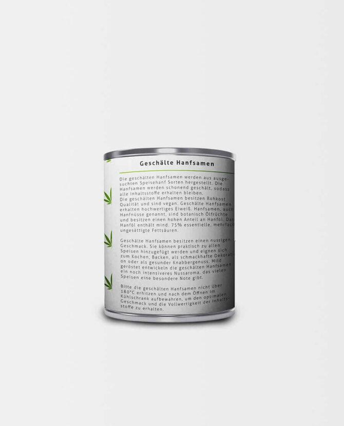 Hanf Extrakte - Geschälte Hanfsamen Bio