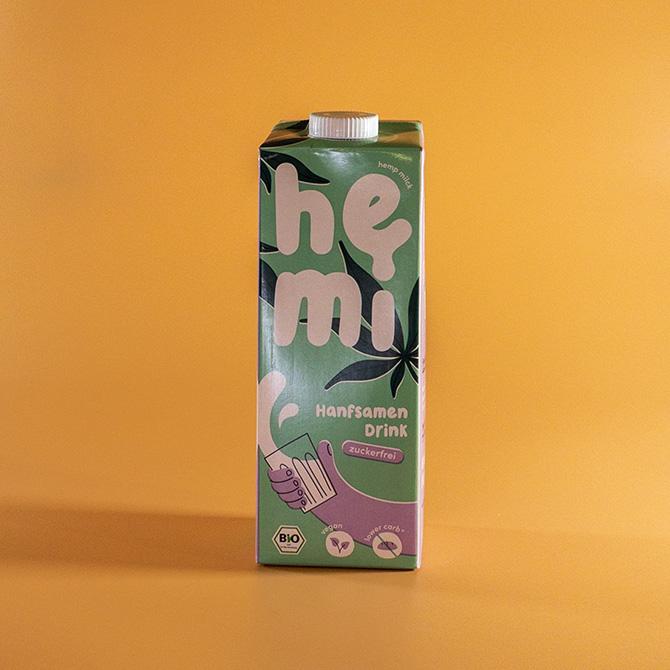 hemi - Hanfsamen Drink zuckerfrei