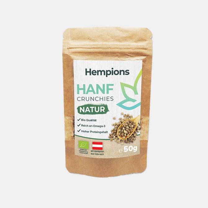 Hempions - Bio Hanf Crunchies
