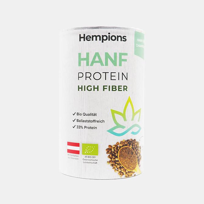 Hempions - Bio Hanfprotein High Fiber
