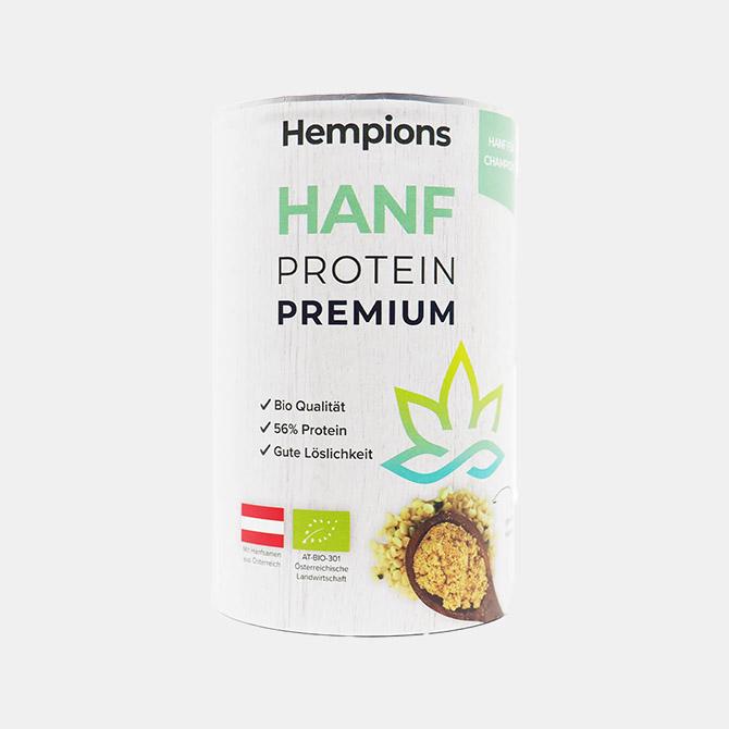 Hempions - Hanf Protein Premium